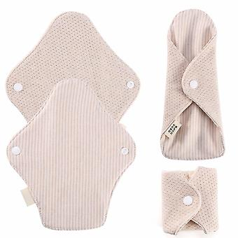 New Menstrual Pads Re-useable Women Feminine Sanitary Napkin Washable Organic