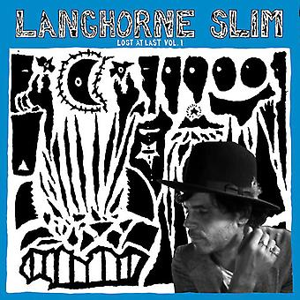 Slim*Langhorne - Lost at Last Vol 1 [CD] USA import