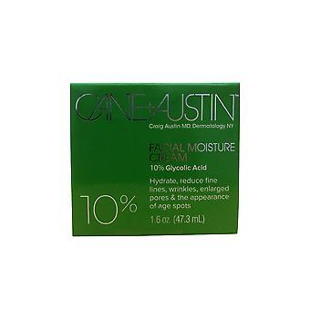 Cane + Austin Facial Moisture Cream 10% Glycolic Acid 1.6 OZ