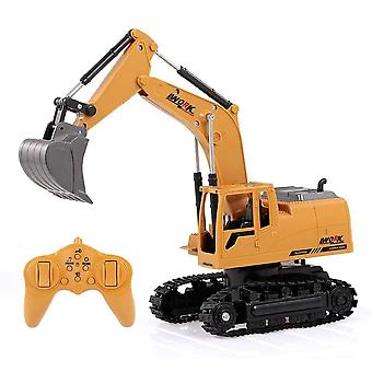 Mini Remote Control Excavator Truck With Music Led Light