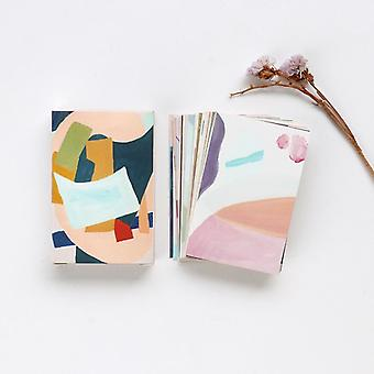 Creative Colorful Life Mini Lomo Postcard /greeting /birthday Letter Envelope