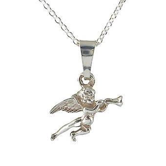 VJ Siden 1890 Sølv Halskjede Angel