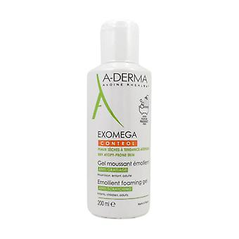 Exomega Control Emollient Cleansing Gel 200 ml of gel