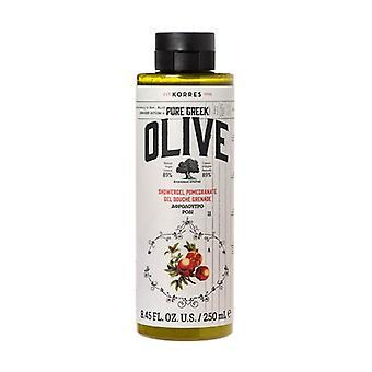 Olive & Pomegranate Shower Gel 250 ml