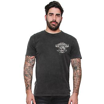 Lucky 13 Men's T-Shirt Bikes And Booze
