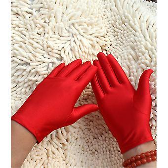 1 Paar dünne gut gestreckt Spandex Handschuhe Fitness Schmuck Handschuhe