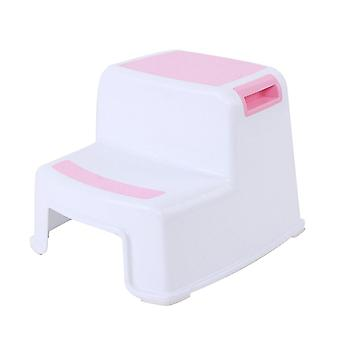 2 Step  Kids Stool/toilet Potty Training Slip Resistant For Bathroom Kitchen Tb