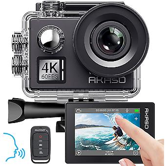 WiFi Action Camera Voice Control EIS 40m Waterproof Remote Control Sports Camera