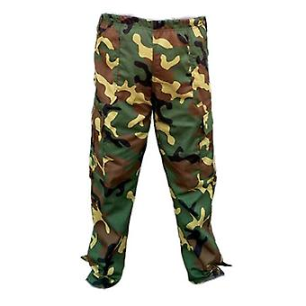 Large Size Men's Pants, Camouflage Elastic Band, Summer Loose Pant