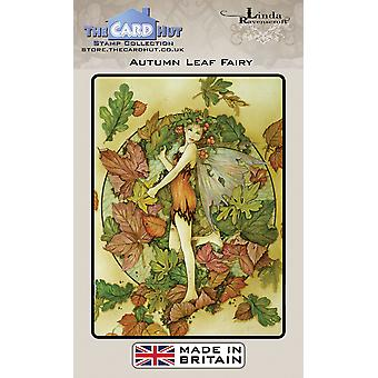 The Card Hut Autumn Leaf Fairy Clear Stamps