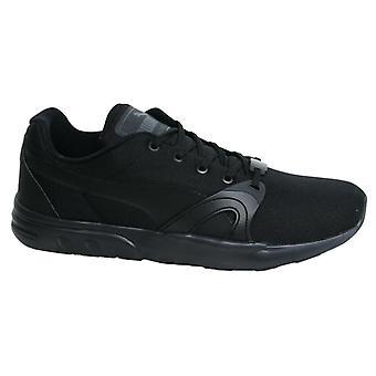 Puma Trinomic XT S Mens Black Lace Up Trainers Running Shoes 359135 01 B123C
