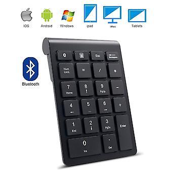 Bluetooth numerikus billentyűzet, ikos hordozható vezeték nélküli bluetooth 22-kulcs külső szám pad több