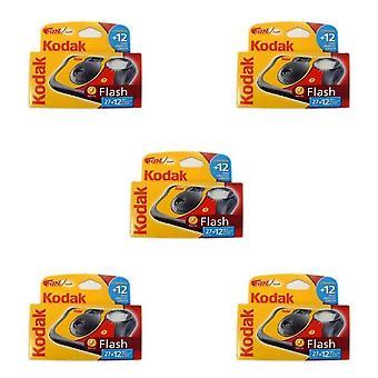 Kodak Spaß Flash-Einweg-Kamera - 39 Belichtungen 5 pack