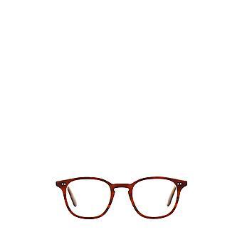 Garrett Leight CLARK matbrown tort lam unisex eyeglasses