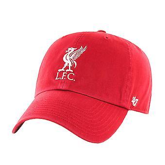 47 العلامة التجارية EPL ليفربول FC MVP تنظيف قبعة - أحمر