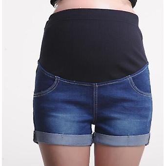Summer Maternity Short- Pregnant Denim Jeans