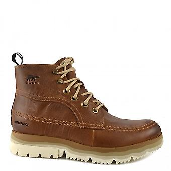 Sorel Men's Atlis Chukka Waterproof Boots Elk/oatmeal