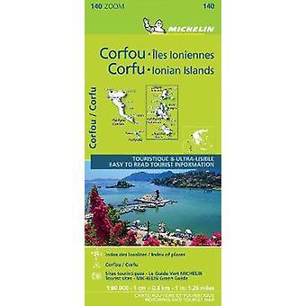 Corfu  the Ionian Islands  Michelin Zoom Map 140 Maps Michelin Zoom Maps