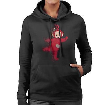 Teletubbies Po Fading Women's Hooded Sweatshirt
