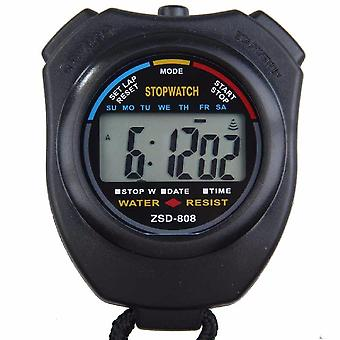 Classic Waterproof Digital Professional Lcd Handheld Sports Stopwatch Timer
