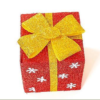Joulu lahja laatikko DIY korulaatikot säilytyskotelo haltija bow lahja lahja