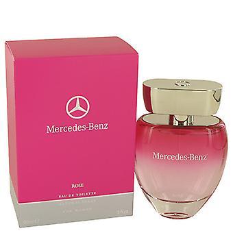 Mercedes-Benz Rose Eau De Toilette Spray 90ml/3oz