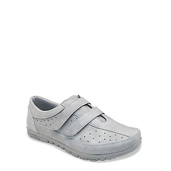 Cushion Walk Ladies Leisure Shoe Twin Touch and Close Leisure Shoe