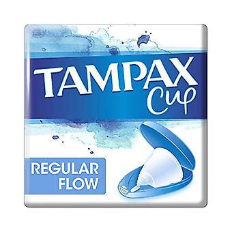 Wineglass Regular Flow Tampax