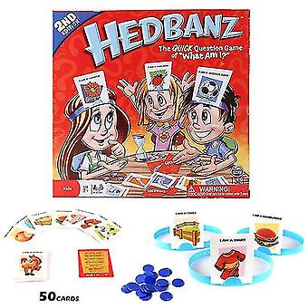 Board Game Head-mounted Card Game Guess Who I Am Family Party Creative Toysmultiplayer Game