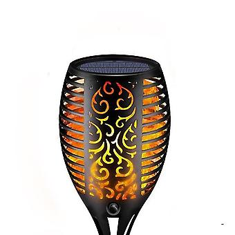 Led Solar Flame Lamp Outdoor Torch Lights
