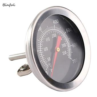 Stainless Steel Accessories Grill Meat Thermometer Dial Temperature Gauge