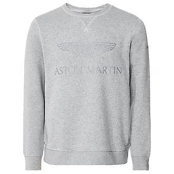 Hackett Crew Neck AMR Print Sweatshirt