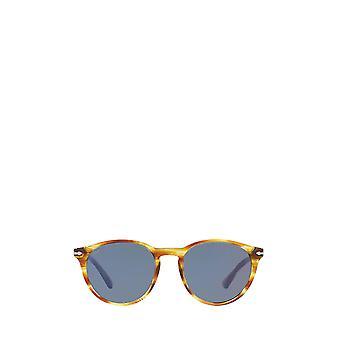 Persol PO3152S striped brown & yellow male sunglasses