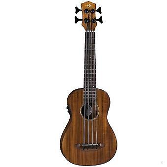 Luna bari-bass ukulele with preamp-koa, uke bbass