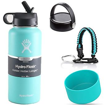 18oz 32oz 40oz Hydro Flask Vacuum Insulated Wide Mouth Water Bottle