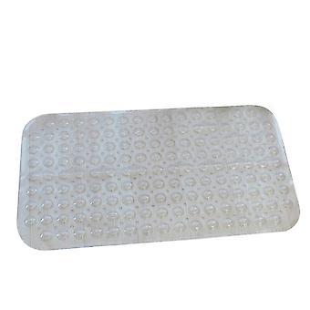 Tappeto da bagno trasparente in PVC antiscivolo