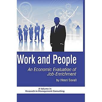 Trabalho e Pessoas - Avaliação Econômica do Enriquecimento de Empregos - 978160752