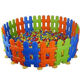 Pilsan jeu clôture, clôture en plastique, écurie de fonctionnement 06159, 10 éléments 46 x 78,5 x 6,5 cm
