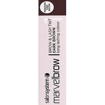 Salon System  Marvel Brow - Brow And Last Tint - Dark Brown 15ml