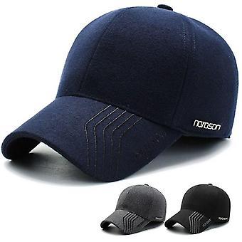 Woolen Golf Hat Warm Thicken Cap
