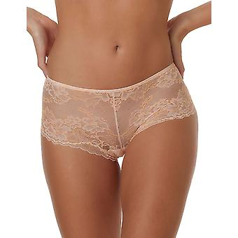After Eden Maddie 10.33.6106-034 Women's Peach Floral Lace Boyshort