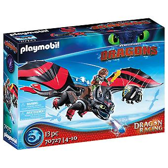 Playmobil Dragon Racing Hiccup and Toothless