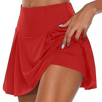 Women Sports Tennis Fitness Quick Drying Skirt