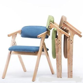 Solid Wood Office Furniture Home Folding Conference Chair