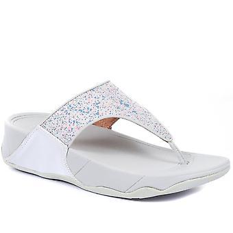 FitFlop mujeres Lulu ajuste ancho puntera post sandalias