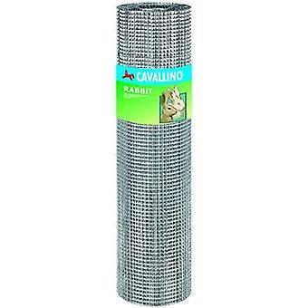 FengChun 66710 Kaninchendraht/Maschendraht, verzinkt, 6,3x6x3 mm, Drahtschnur: 0,55, 5m, 100cm