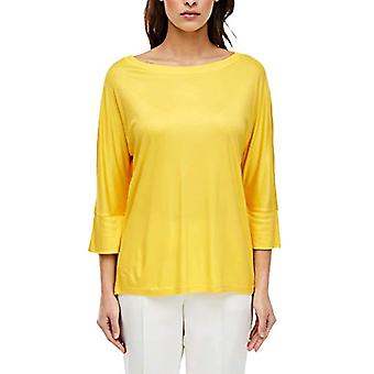 s.Oliver BLACK LABEL 150.10.003.12.130.2037578 T-Shirt, Yellow, 42 Woman