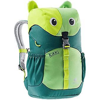 Deuter Kikki - Unisex Backpack for Kids, Unisex - Kids, Children's Backpack, 3610421, Alpine Green Avocado, 8 L