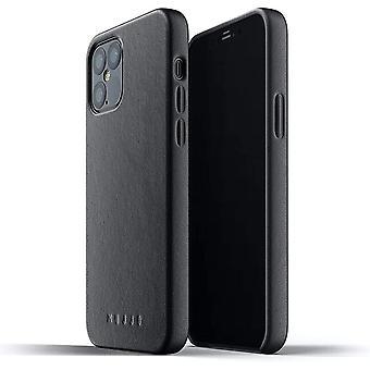 FengChun voller Ledertasche für iPhone 12 Pro / iPhone 12   Premium Echtes Leder, natürliche Alterung