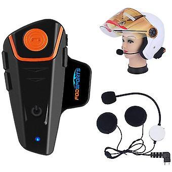 FengChun BT-S2 Motorrad Helm Gegensprechanlage Headset wasserdicht Bluetooth Interphone Kommunikation